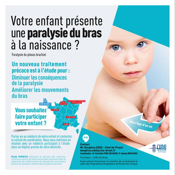 Affiche étude POPBtox